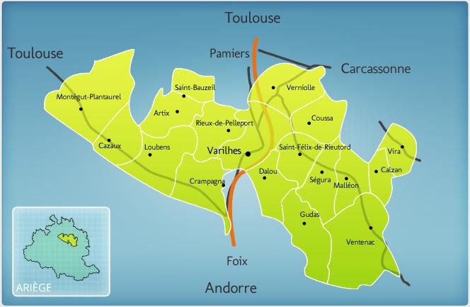 Canton de Varilhes